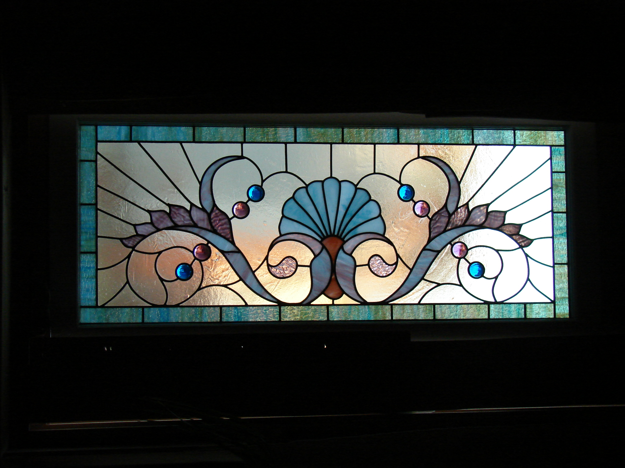 Historic Reproduction upper floor bedroom window transom  circa 1895 - 429 New Jersey Ave. S.E. Washington D.C.