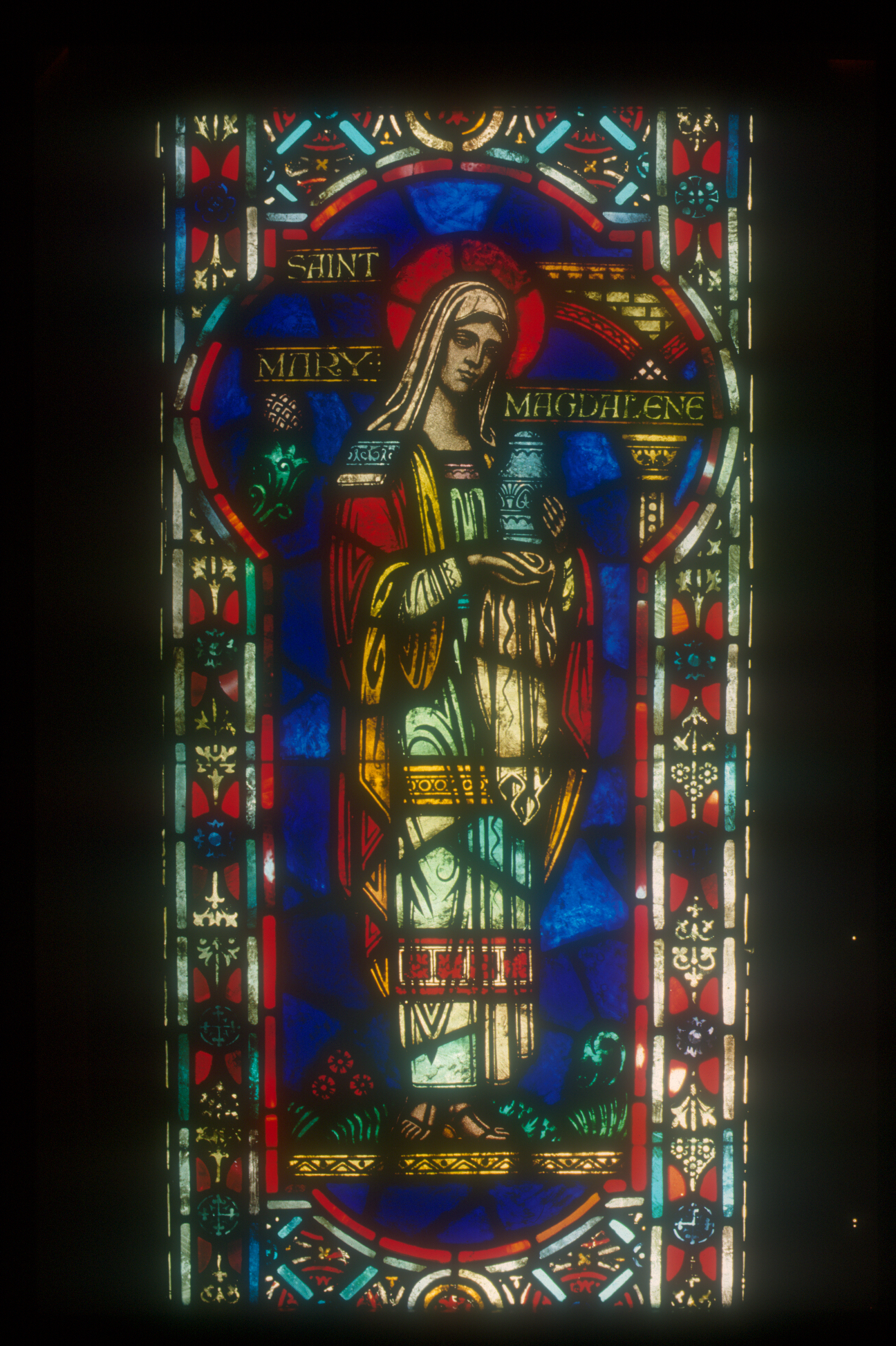 Mary Magdelaine Church Window circa 1890 - Restoration